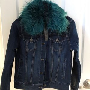 NWT max jeans jacket
